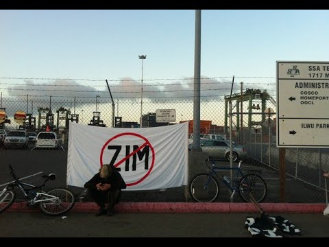 ILWU & The Fight Against The Zionist Shipping Line ZIM In Oakland & The West Coast With Jack Heyman