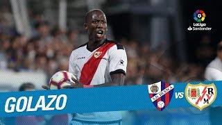 Golazo de Imbula (0-1) SD Huesca vs Rayo Vallecano