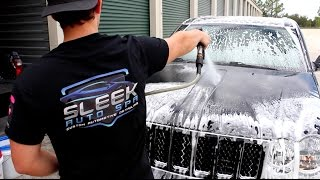 jeep grand cherokee srt8   sleek auto spa detailing   orlando florida