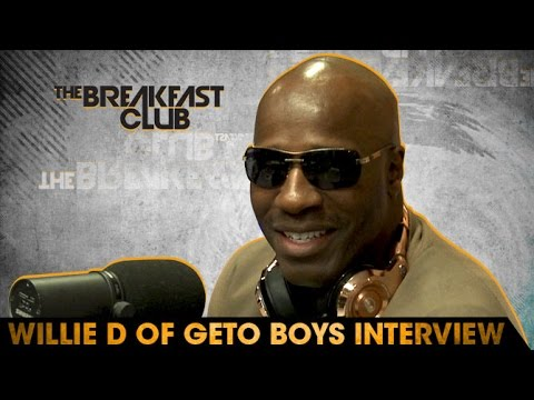 Willie D of Geto Boys Interview at The Breakfast Club Power 105.1 (04/21/2016)