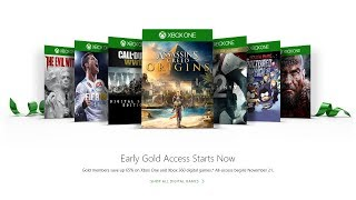 Xbox Live Black Friday Deals - 500 Deals, Up to 65% off! WHAT IS WORTH BUYING!?