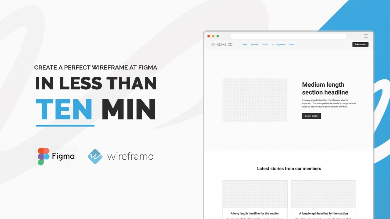 Best wireframe kit for Figma | Wireframo