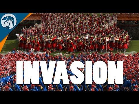 RUSSIAN TROOPS INVADE, UKRAINE DEFENDS | Cossacks 3 Gameplay