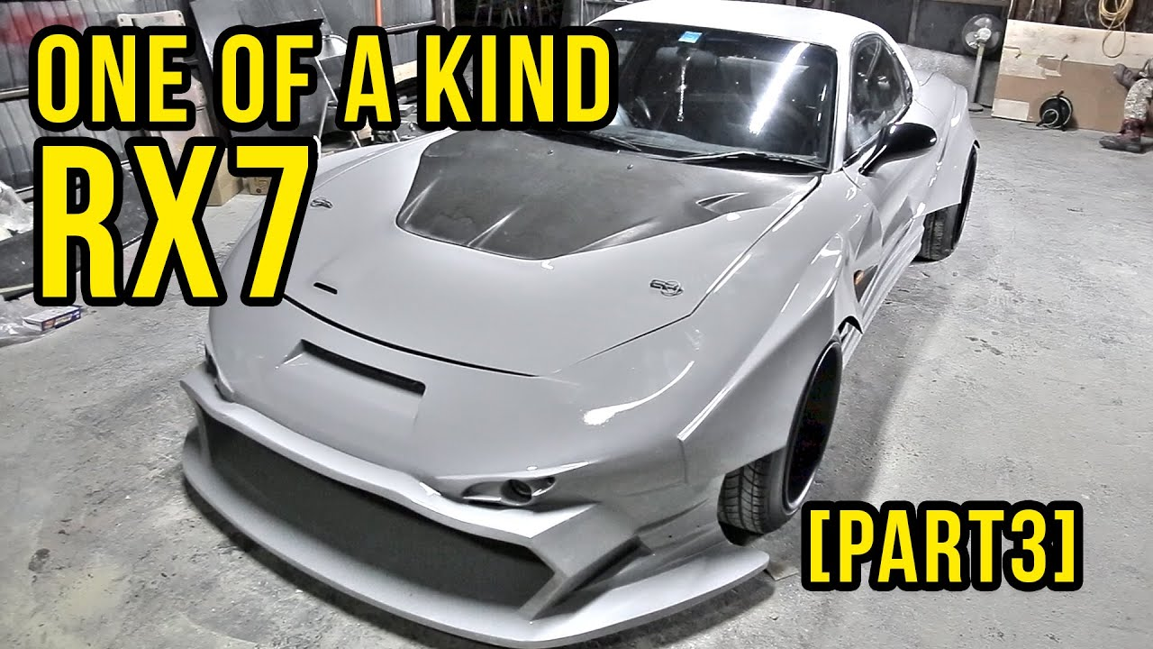 Building A One Of A Kind Mazda RX7 FD [Part 3]   JStyle In Tochigi, Japan    YouTube