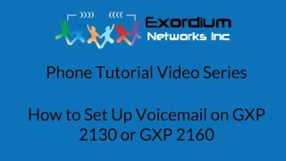 How to Set Up Voicemail on GXP 2130 or GXP 2160