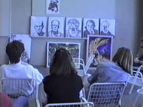 March 1988 Cleveland institute of Art Graphics Critique,