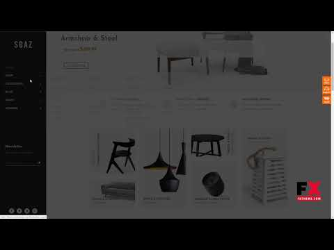 Soaz - Furniture Store WordPress WooCommerce Theme (Mobile Layout Rea thumbnail