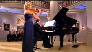 "Anne-Sophie Mutter and Lambert Orkis encore- Lullaby Kołysanka ""Guten Abend, gut"