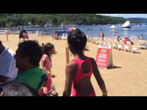 Saambavi's Mont Tremblant 2016 beach trip