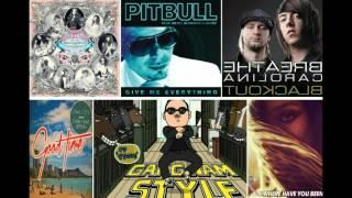 Gangnam style megamix (PSY Pitbull Rihanna Owl city Carly Rae Jepsen SNSD)(with DL site)