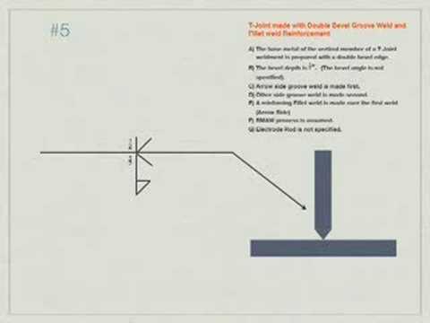 Welding blueprint reading problem 5 youtube welding blueprint reading problem 5 malvernweather Choice Image