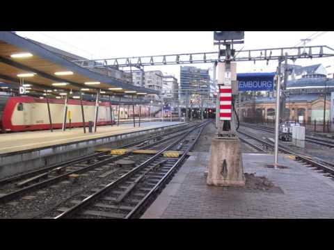 Les trains au Luxembourg