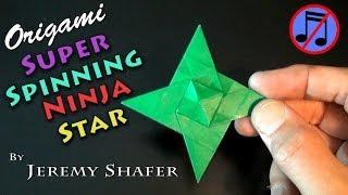 Origami Super Spinning Ninja Star (no Music)