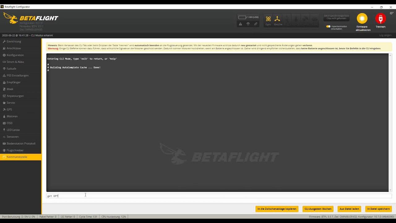 Anschluss und Konfiguration eines GPS in Betaflight фотки