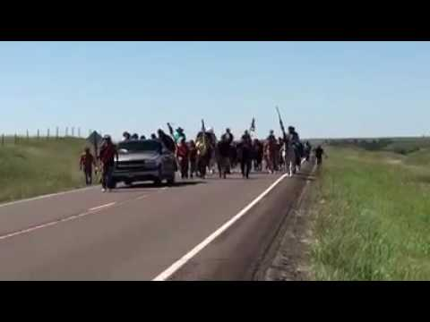 And The Oglala Sioux Arrive! Against The Dakota Access Pipeline