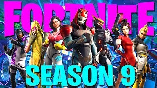 FORTNITE SEASON 9!! | Battle Pass + Map Changes (Stream Playback 9-5-2019)