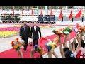 Визит Путина в Пекин. Президента РФ встречали танцами и «Катюшей»