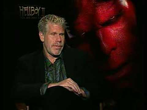 Ron Perlman interview for Hellboy 2 the Golden Army