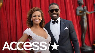 Sterling K. Brown's Wife Ryan Michelle Bathe Steals The Spotlight At The 2018 SAG Awards | Access