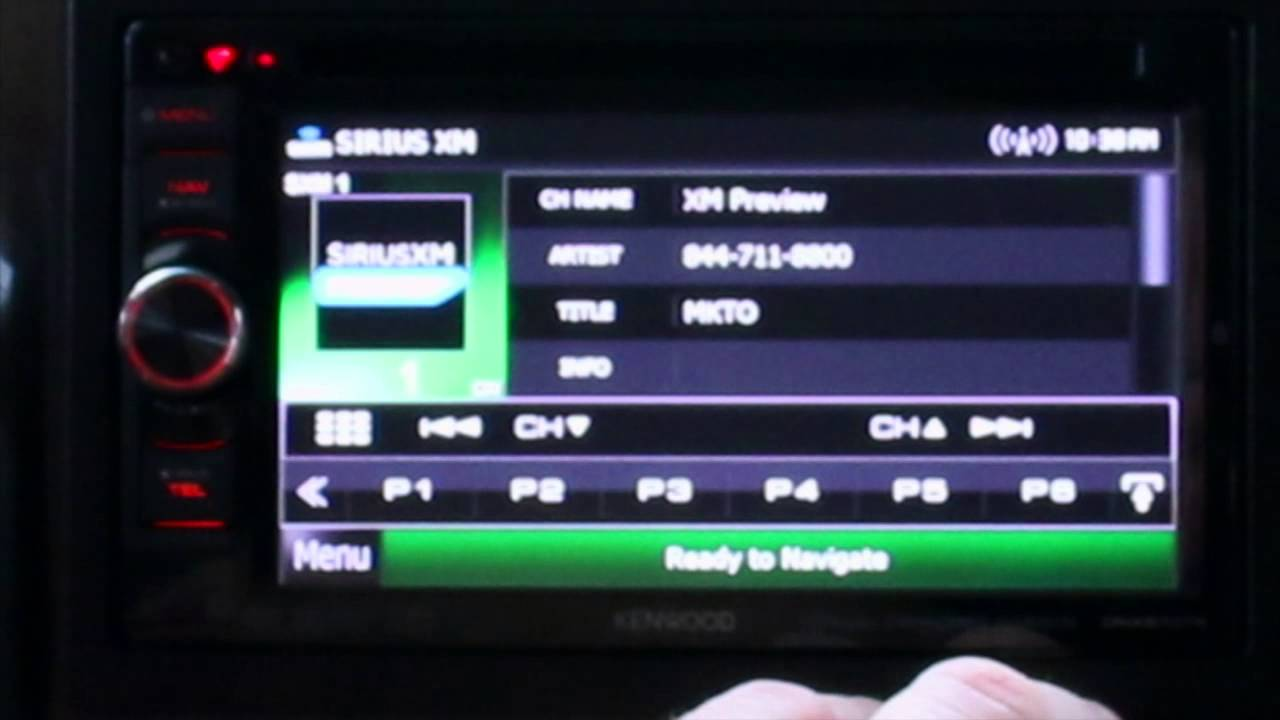 HOW TO SETUP SIRIUS XM SUBSCRIPTION
