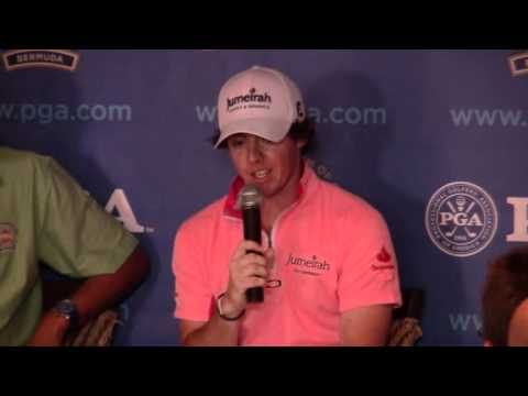 Rory McIlroy PGA Grand Slam Bermuda October 18 2011