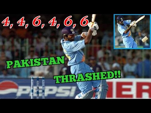 Lakshmipathy Balaji THRASHING Pakistan Bowlers to all Corners : 4,4,6,4,6,6 | ABSOLUTELY HILARIOUS!!