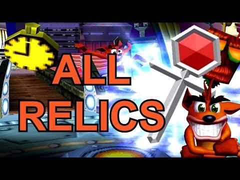 Crash Bandicoot 3 - ALL Platinum Relics 105%