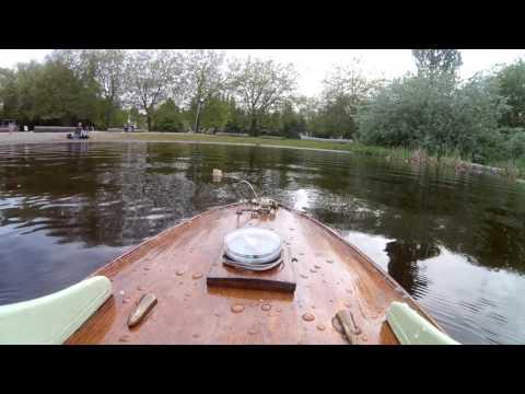 A tribute to Rouen's wood model boat builders, the MY Elle Bateau modèle maiden FPV!