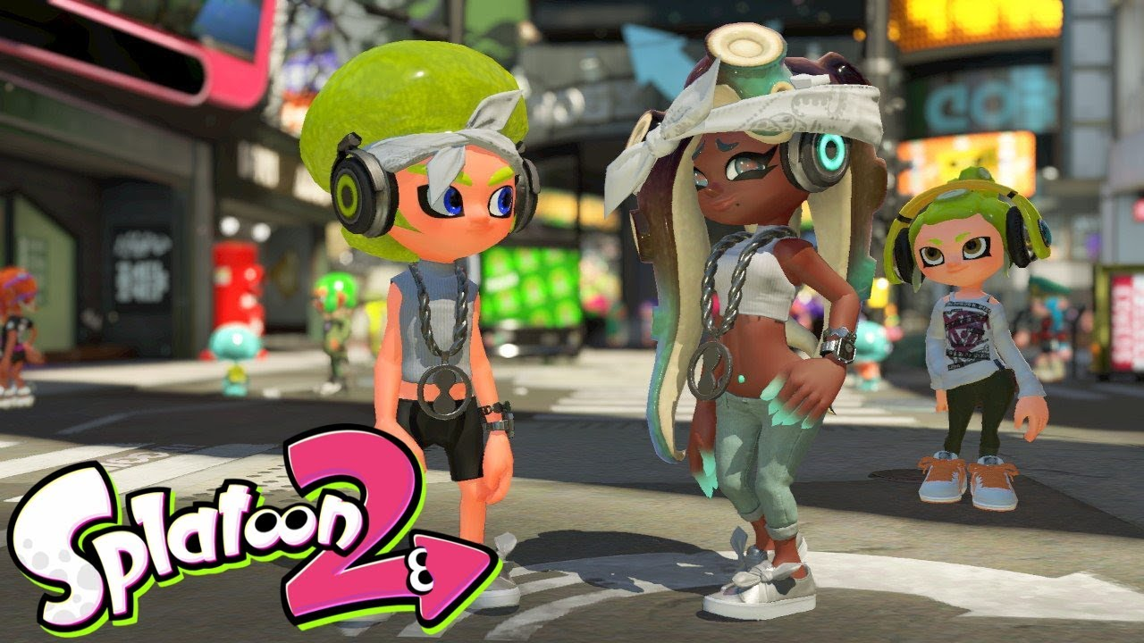 Splatoon 2 Pearl And Marina Amiibo Features Youtube