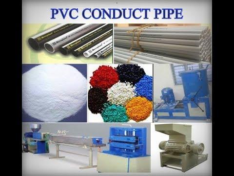 PVC CONDUIT PIPES MANUFACTURING (பிவிசி பைப் தயாரித்தல்)