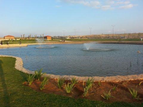 جولة في أرجاء المنتزه الايكولوجي بوجدة صباحا Parc ecoligie oujda from morocco
