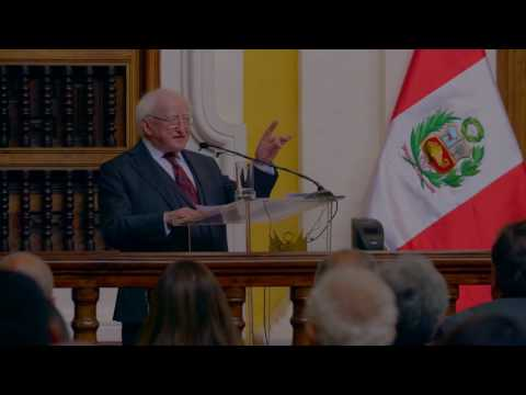 Keynote Address by President Higgins at the Peruvian Ministry of Foreign Affairs
