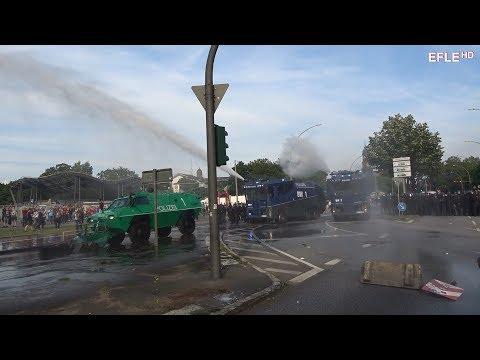 G20 Gipfel führt zu Straßenschlachten im gesamten Hamburger Stadtgebiet
