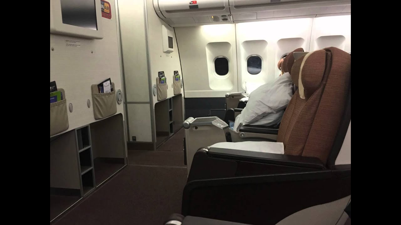Philippine Airlines Airbus A340 Business Class Manila To