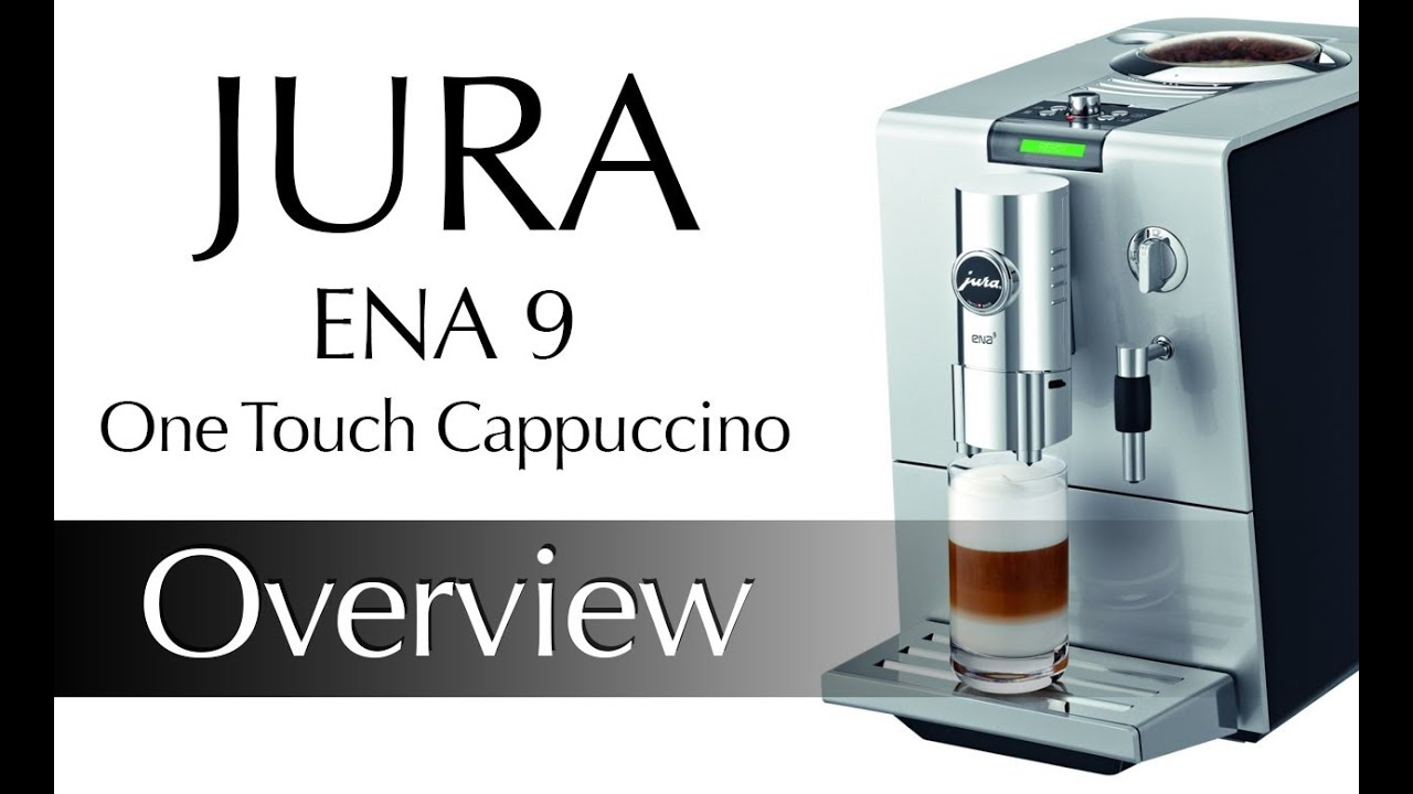 jura ena 9 one touch cappuccino centre youtube. Black Bedroom Furniture Sets. Home Design Ideas