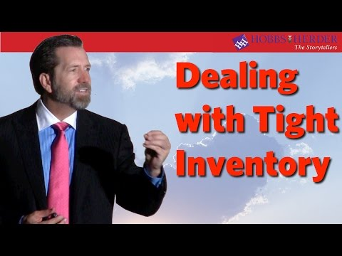 """Greg Herder Coaching Webinar """"How to Succeed in a Marketplace with TIght Inventory"""" May 2013"""