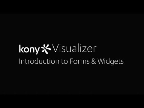 Introduction to Forms and Widgets
