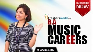 CAREERS IN BA MUSIC – Certification Course,Diploma,Singer,Radio Jockey,Salary Package