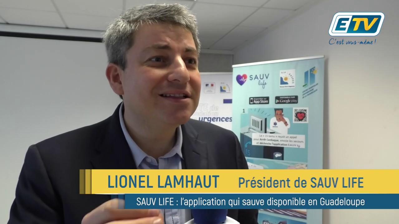 SAUV LIFE, l'application qui sauve des vies débarque en Guadeloupe