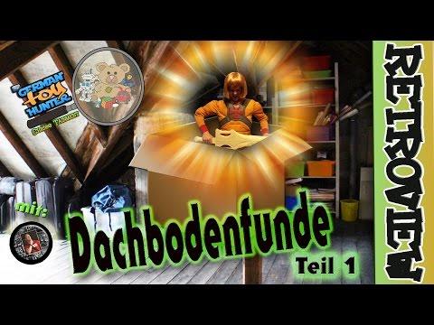 DACHBODENFUNDE Teil 1    The German TOY HUNTER  mit Marc CTHG
