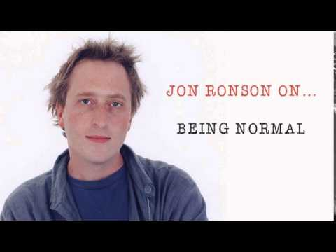 Jon Ronson On... Being Normal