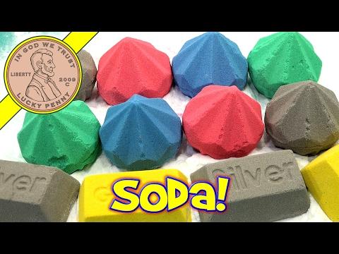 Dig It Gold - Silver - Ruby - Emerald - Diamond & Sapphire Baking Soda & Vinegar Experiment