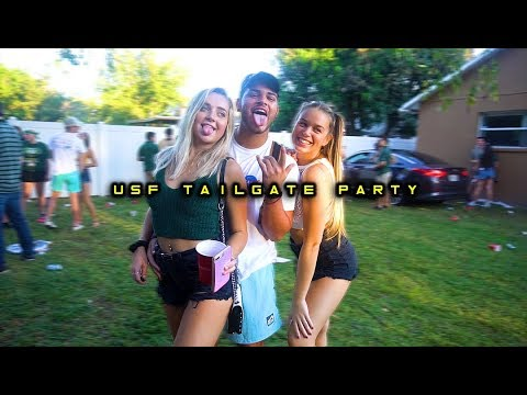 USF TAILGATE PARTY!! (wild)