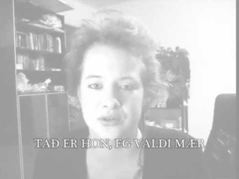 Me singing Fagra Blóma - Faroese song!