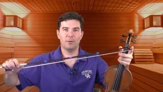 The one-minute bow: beautiful violin tone with Son Filé(TRANSCRIPT: Hi, I'm Nathan Cole of natesviolin.com and today we're going to improve your sound with son filé, or long tones: the infamous one-minute bow., 2016-07-30T03:41:45.000Z)