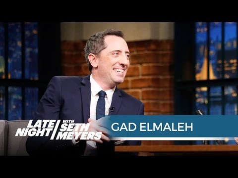 Gad Elmaleh's Embarrassing Jerry Seinfeld Story  Late Night with Seth Meyers