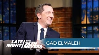 Gad Elmaleh's Embarrassing Jerry Seinfeld Story - Late Night with Seth Meyers