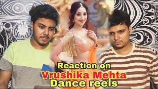 PAKISTANI Reaction on Vrushika Mehta New Dance Reels Videos | Indian actress