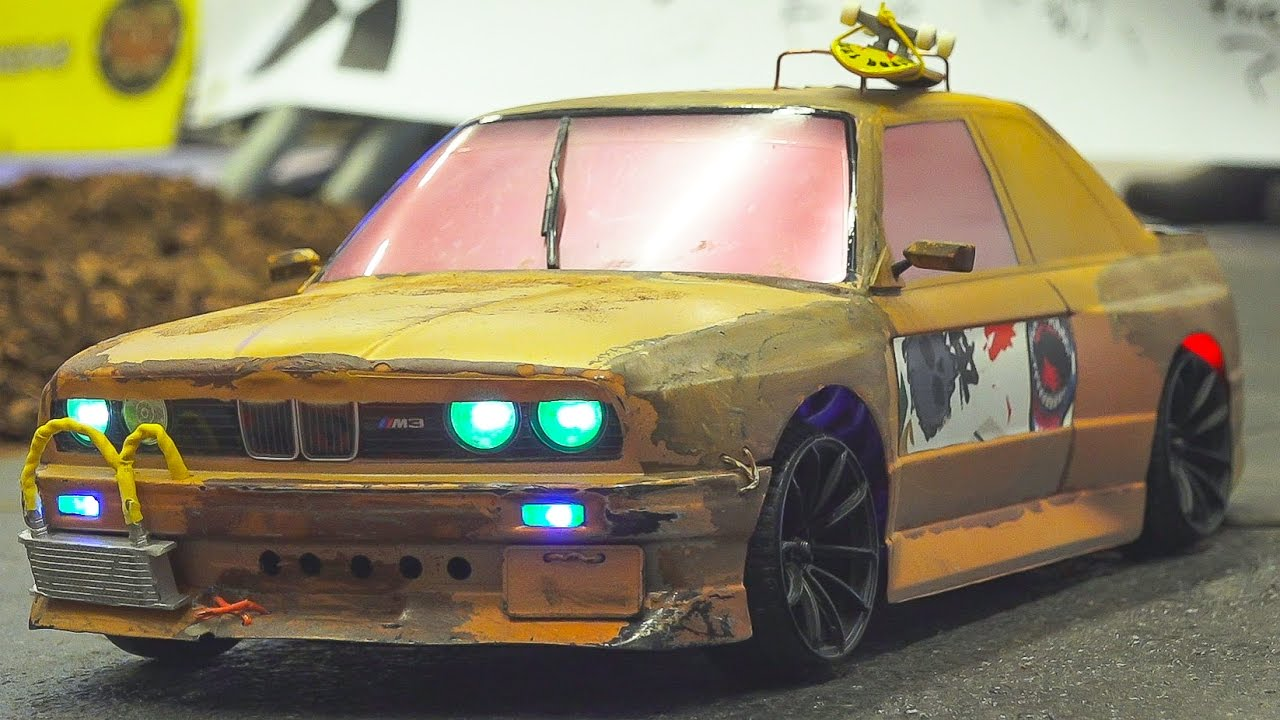 Fantastic Rc Drift Car Race Model Action Rc Bmw Old Style