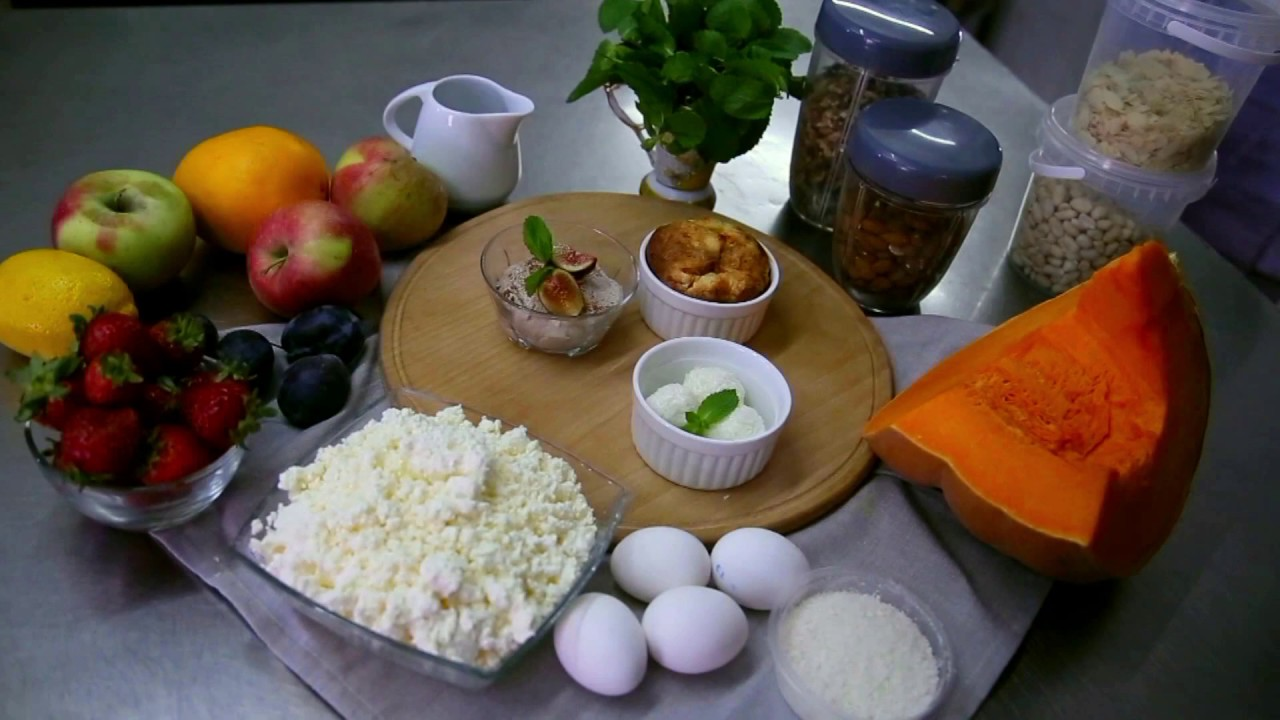 Правильное питание рецепты десертов